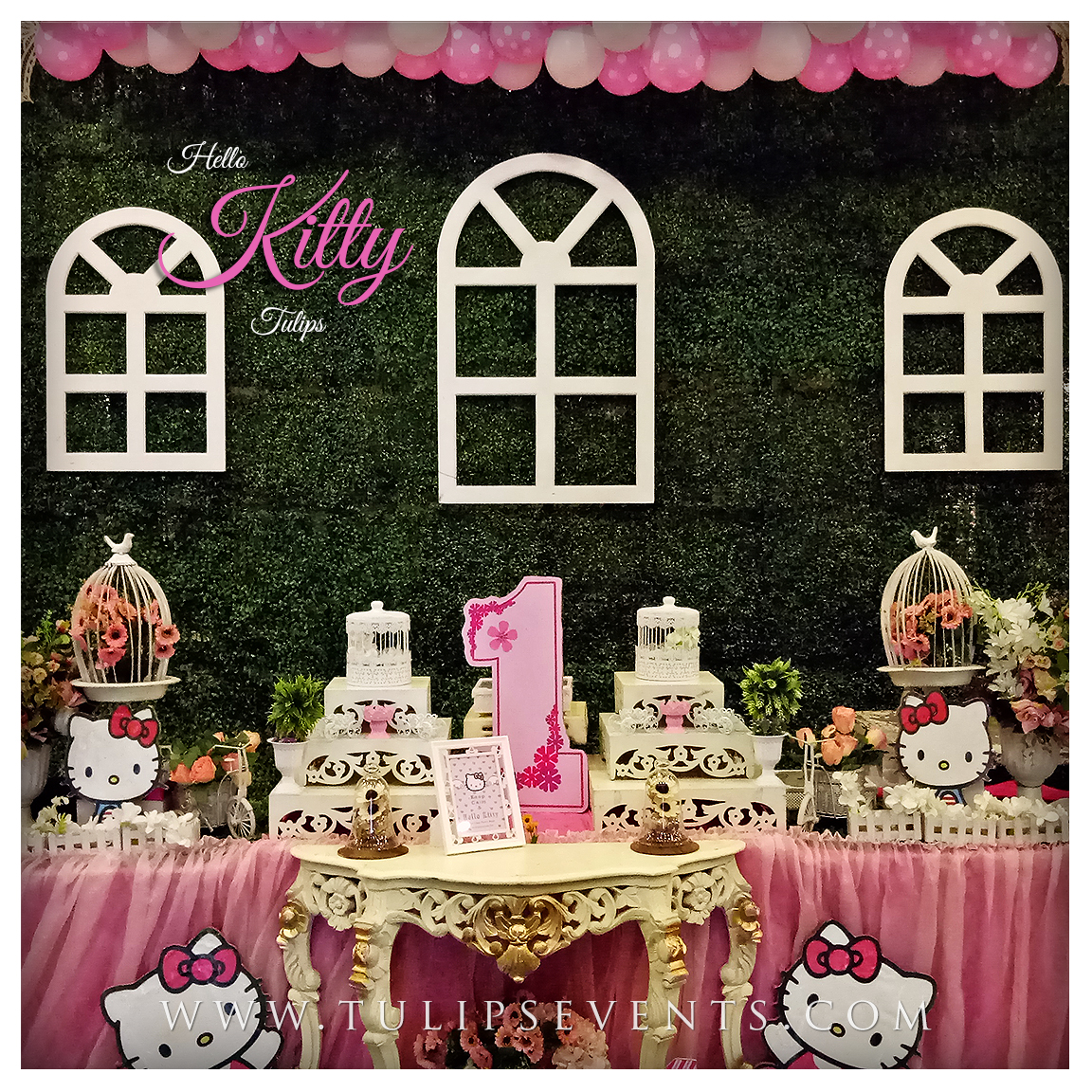 hello kitty birthday party theme ideas planner in pakistan. Black Bedroom Furniture Sets. Home Design Ideas