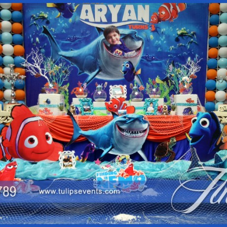 Finding Nemo Party Decor