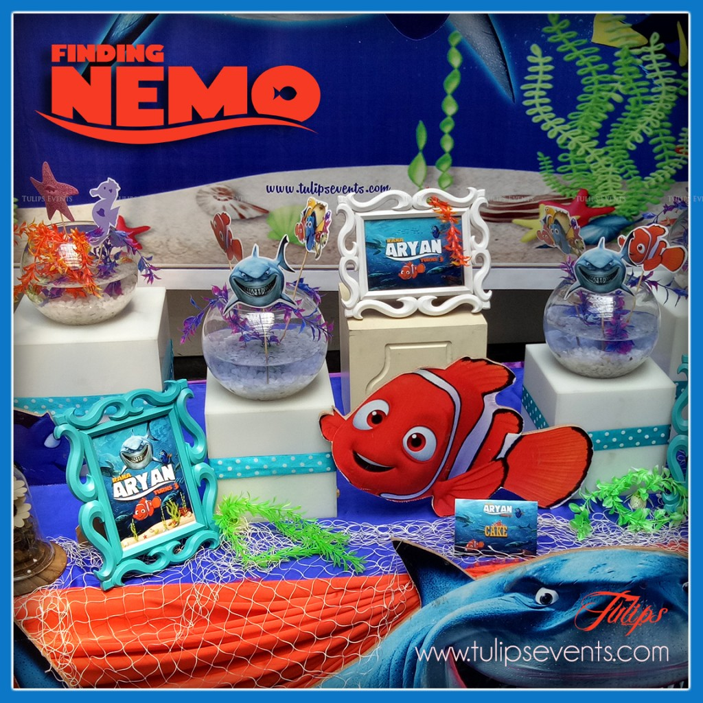 Finding Nemo Theme Party Decoration Ideas in Pakistan (7)