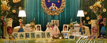 Frozen Fever Theme Birthday Party fun ideas in Pakistan 07