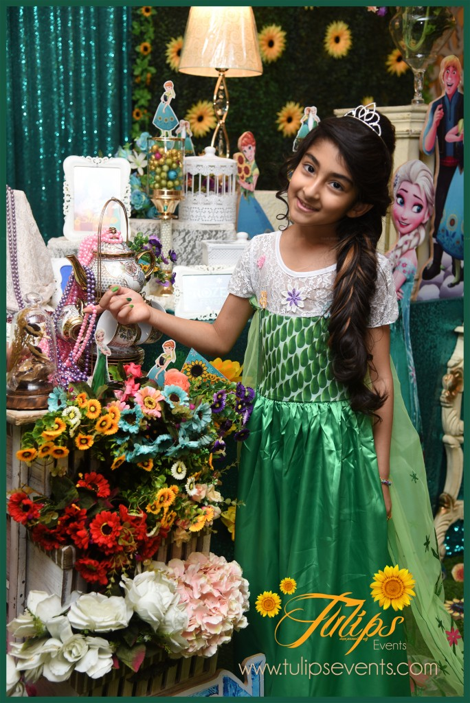 Frozen Fever Theme Birthday Party fun ideas in Pakistan 81