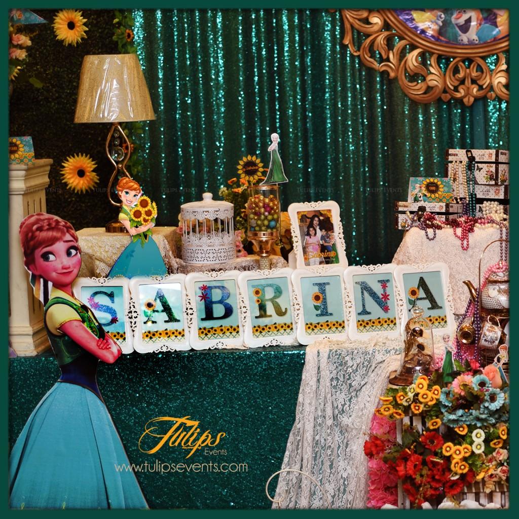 Frozen Fever Theme Birthday Party Fun Decor Ideas In Pakistan