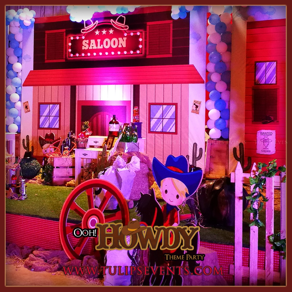 Little Cowboy Howdy Party Theme decoration ideas in Pakistan (27)