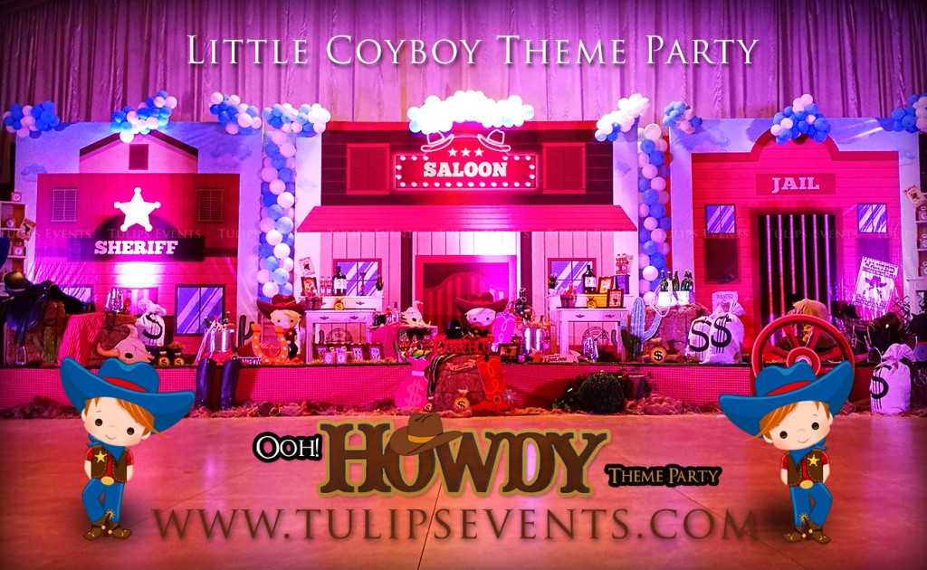 Little Cowboy Howdy Party Theme decoration ideas in Pakistan (43)