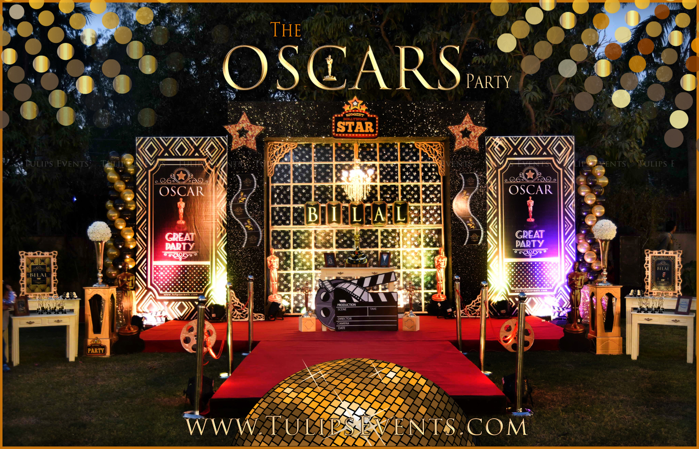 Oscar Themed Party Decoration Ideas Part - 27: ... Oscar-theme-party-decration-ideas-planner-in-pakistan- ...