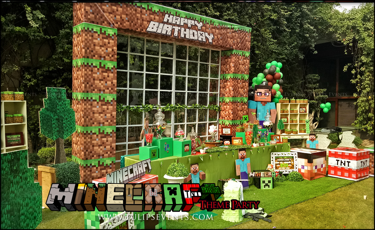 minecraft-birthday-party-theme-decoration-ideas-in-pakistan-26