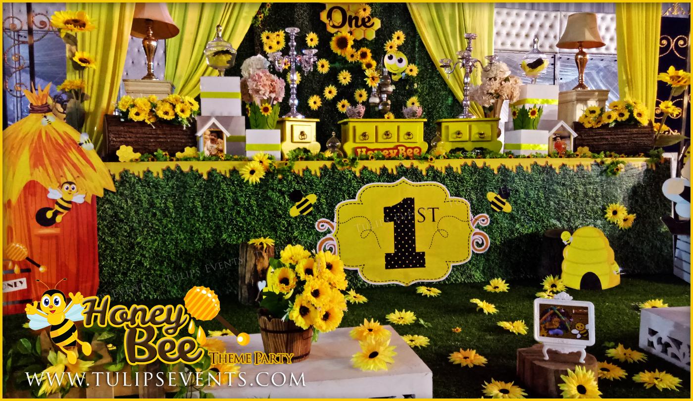 Honey Bee Themed First Birthday