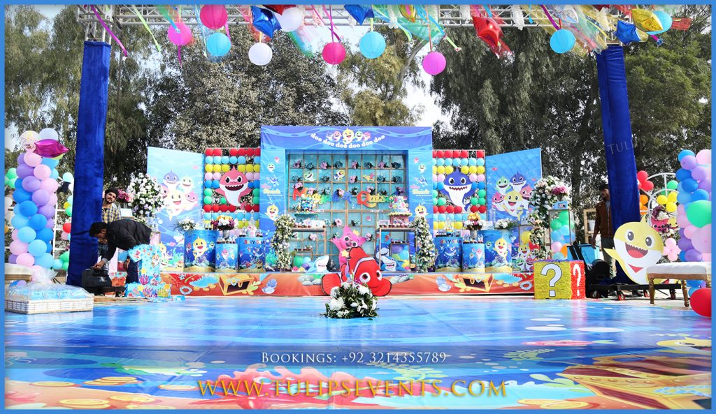 How To Plan Baby Shark Birthday Party In Pakistan