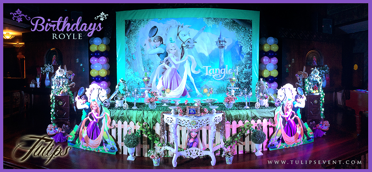 Rapunzel Tangled Party Ideas Planner In Lahore Pakistan Home Birthday Balloons