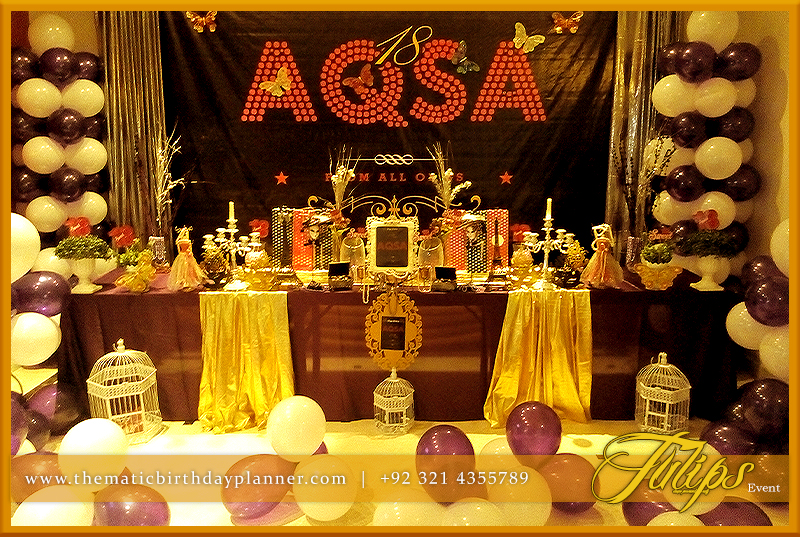 Sweet 18 Theme Party Ideas In Lahore Pakistan
