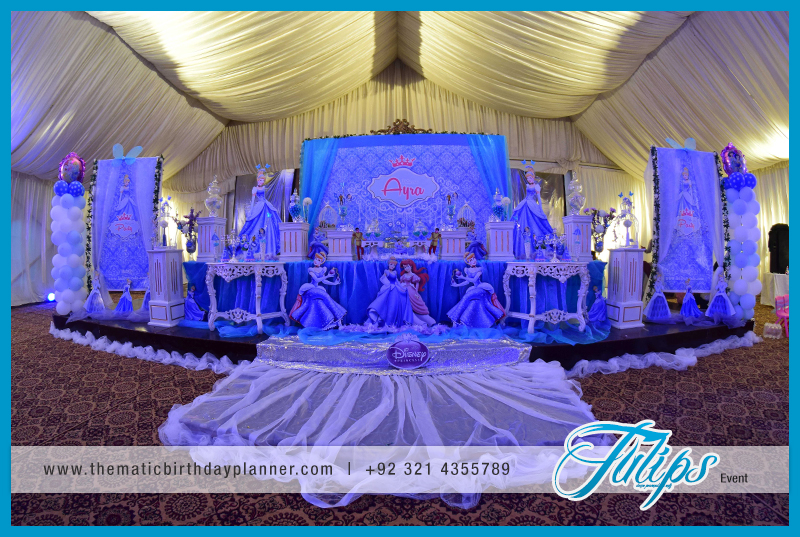 Disney Princess Cinderella Party Theme Ideas In Pakistan