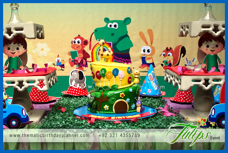 Baby Tv Birthday Party Theme Ideas In Lahore Pakistan 07 Best