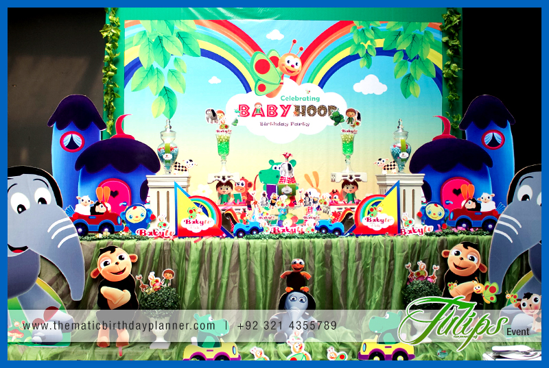 Babytv Birthday Party Theme Ideas In Pakistan