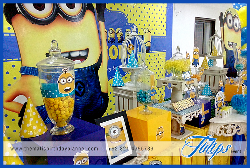 Minions Themed Birthday Party Decoration Ideas In Pakistan 13
