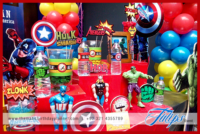 Superhero Themed Party Ideas Best Birthday Party Planner In Lahore