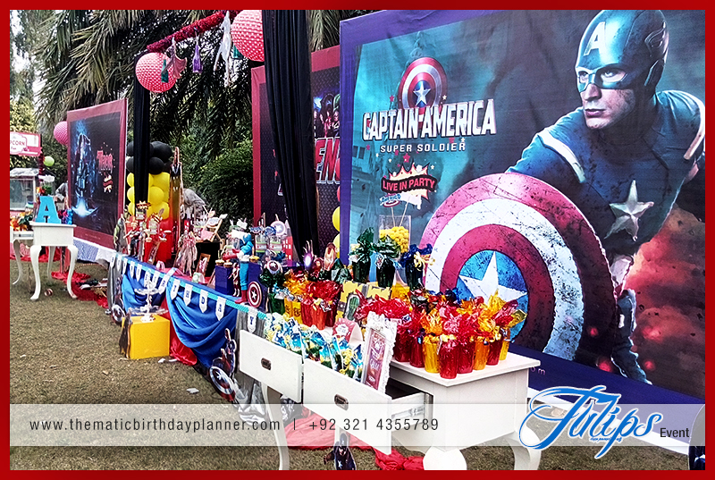 Avengers Birthday Party Theme Decoration Ideas in pakistan