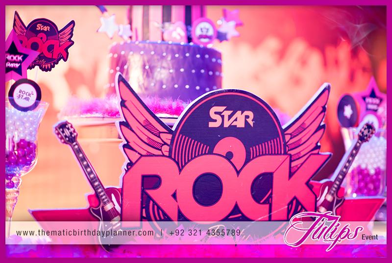 Rock Star Girl Birthday Party Theme Ideas In Pakistan