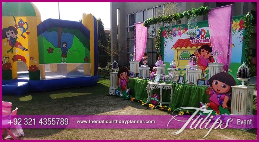 Dora The Explorer Birthday Party Theme Ideas In Pakistan