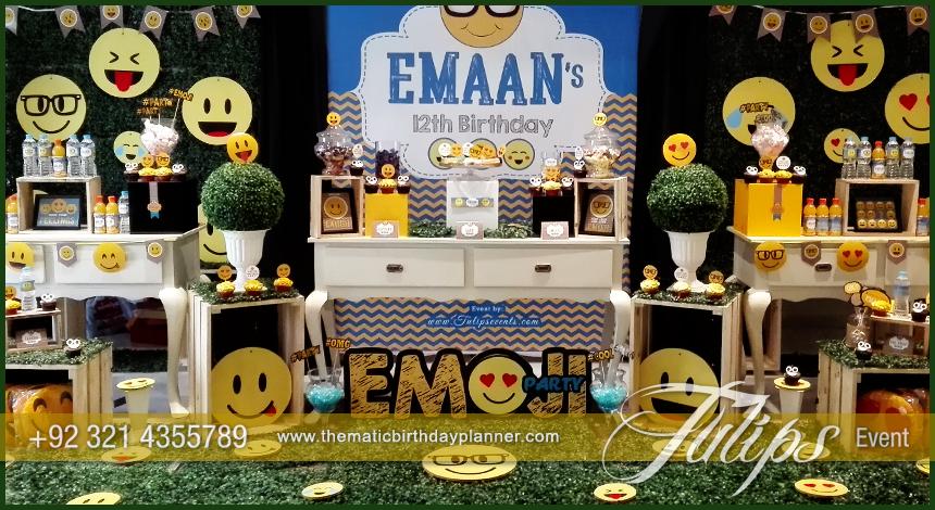 Emoji Birthday Party Theme Decoration Ideas In Pakistan 19