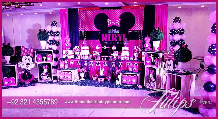 Minnie Mouse Vintage Birthday Party Theme Ideas In Pakistan 29