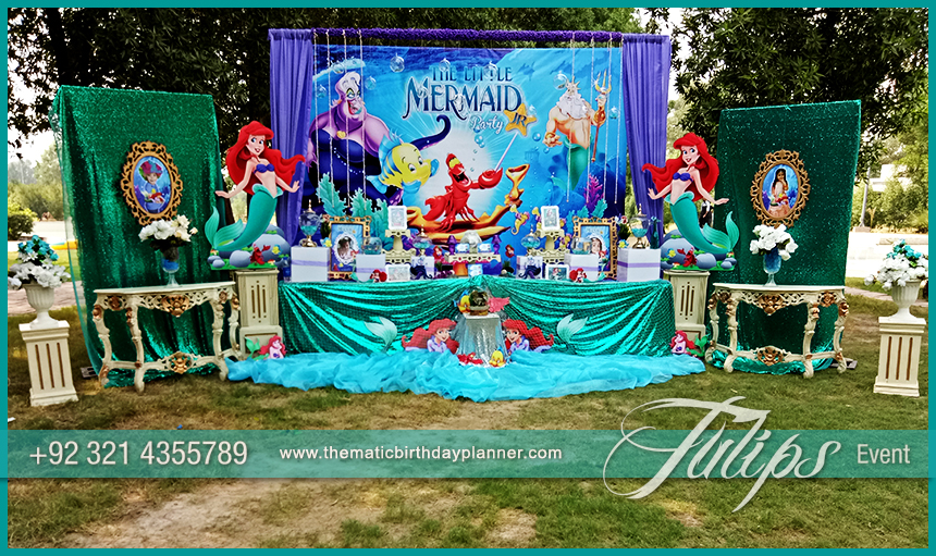 Little Mermaid Party Theme Planning Ideas In Pakistan