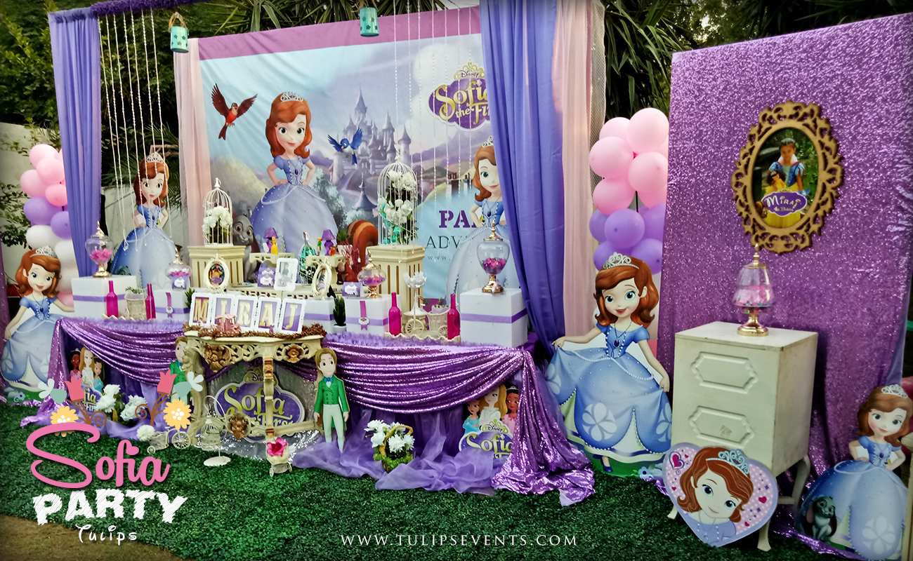 Awesome Sofia Party Theme Decoration Ideas In Pakistan Download Free Architecture Designs Meptaeticmadebymaigaardcom