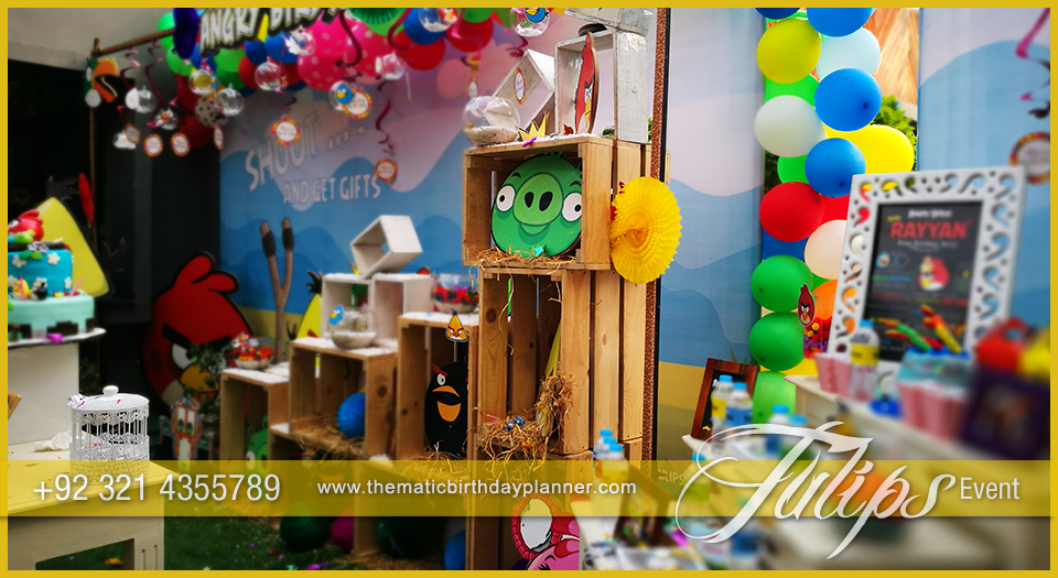 Angry Birds Party Theme Decoration
