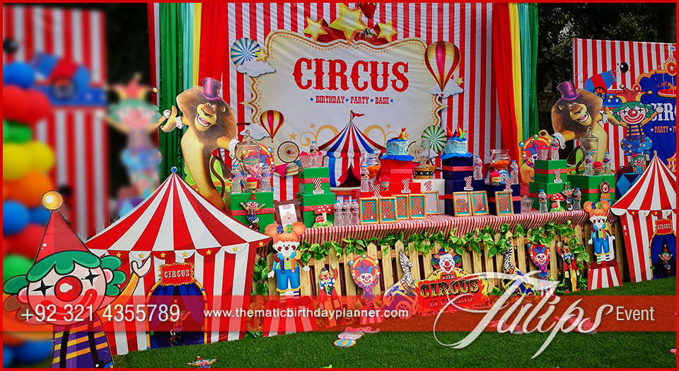 Carnival Theme Birthday Best Birthday Party Planner In