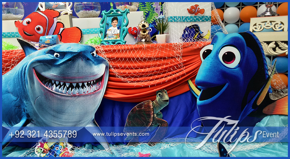 Finding Nemo Party Decor Tips Ideas In Lahore Pakistan