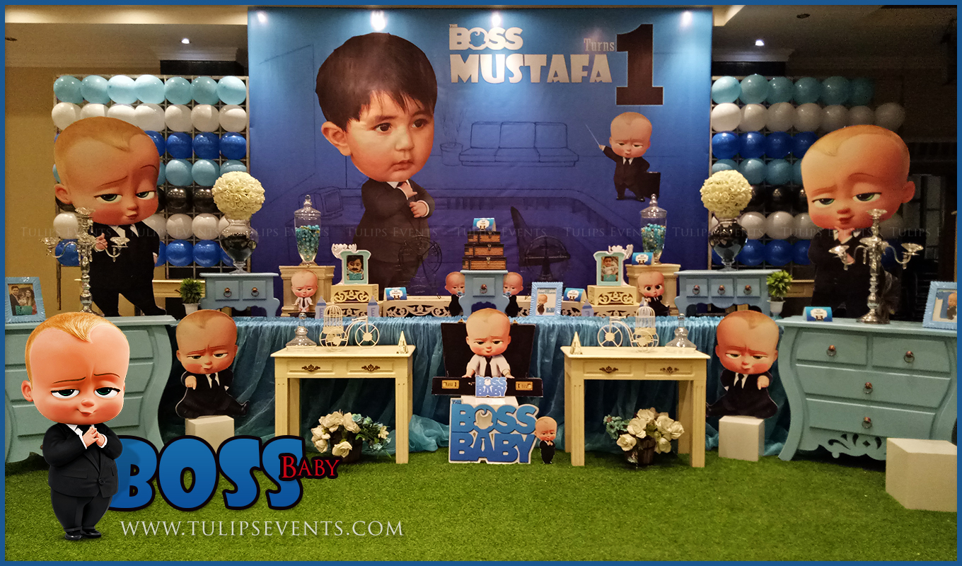 Boss Baby Theme Party Decoration Ideas In Lahore Pakistan
