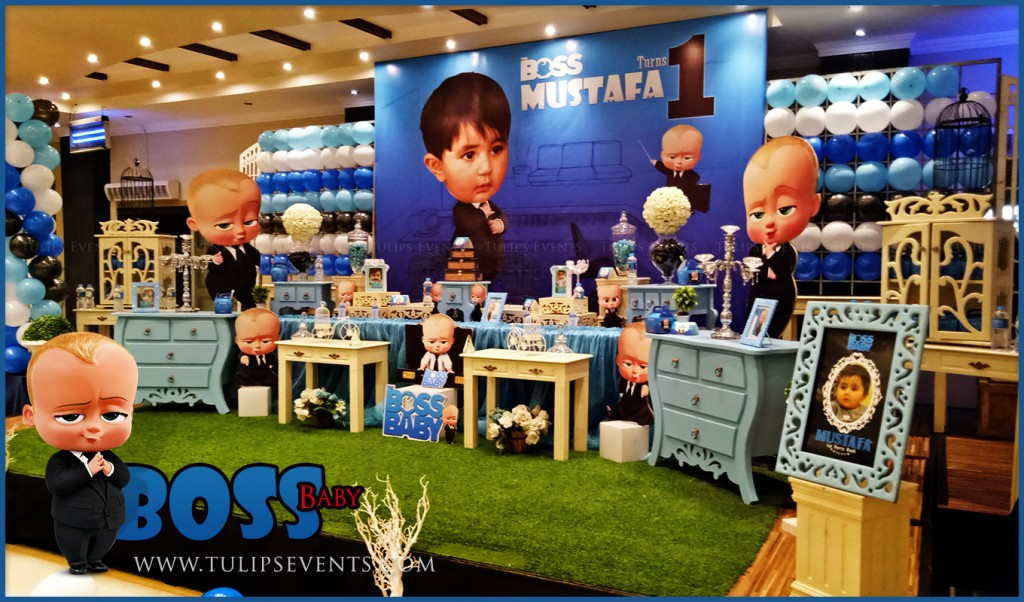 Boss Baby Theme Party Decoration Supplies In Pakistan 11