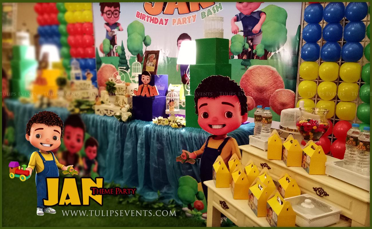 Jan Cartoon Theme Party Backdrop Decor Ideas In Pakistan