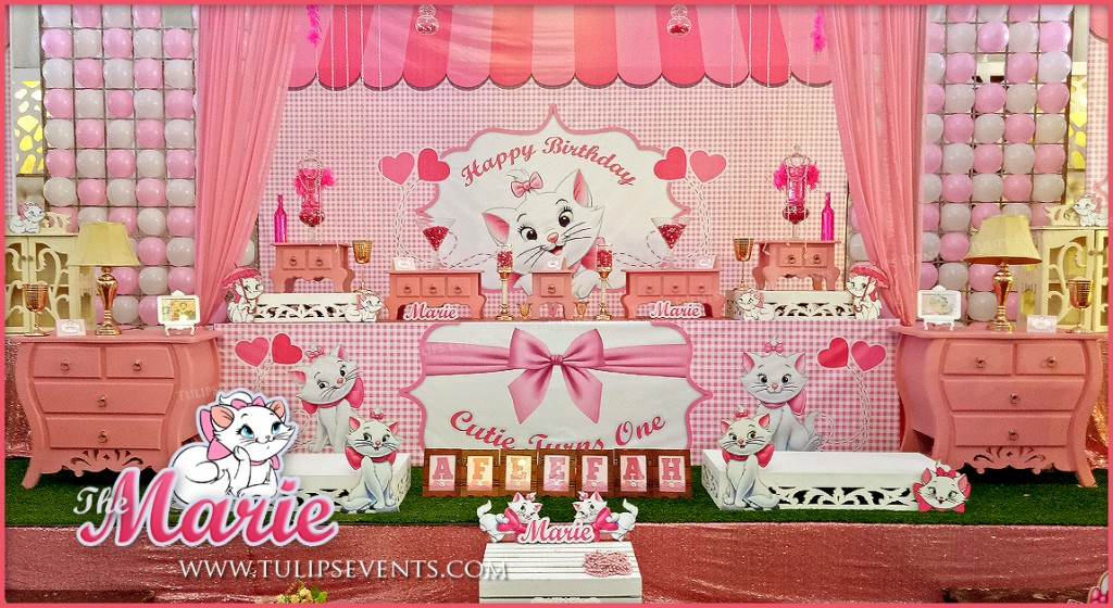 Aristocats Marie Theme Party Best Birthday Party Planner