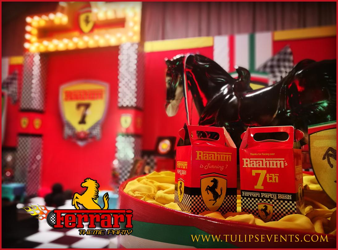 Ferrari Themed 1st Birthday Party Planner In Lahore Pakistan