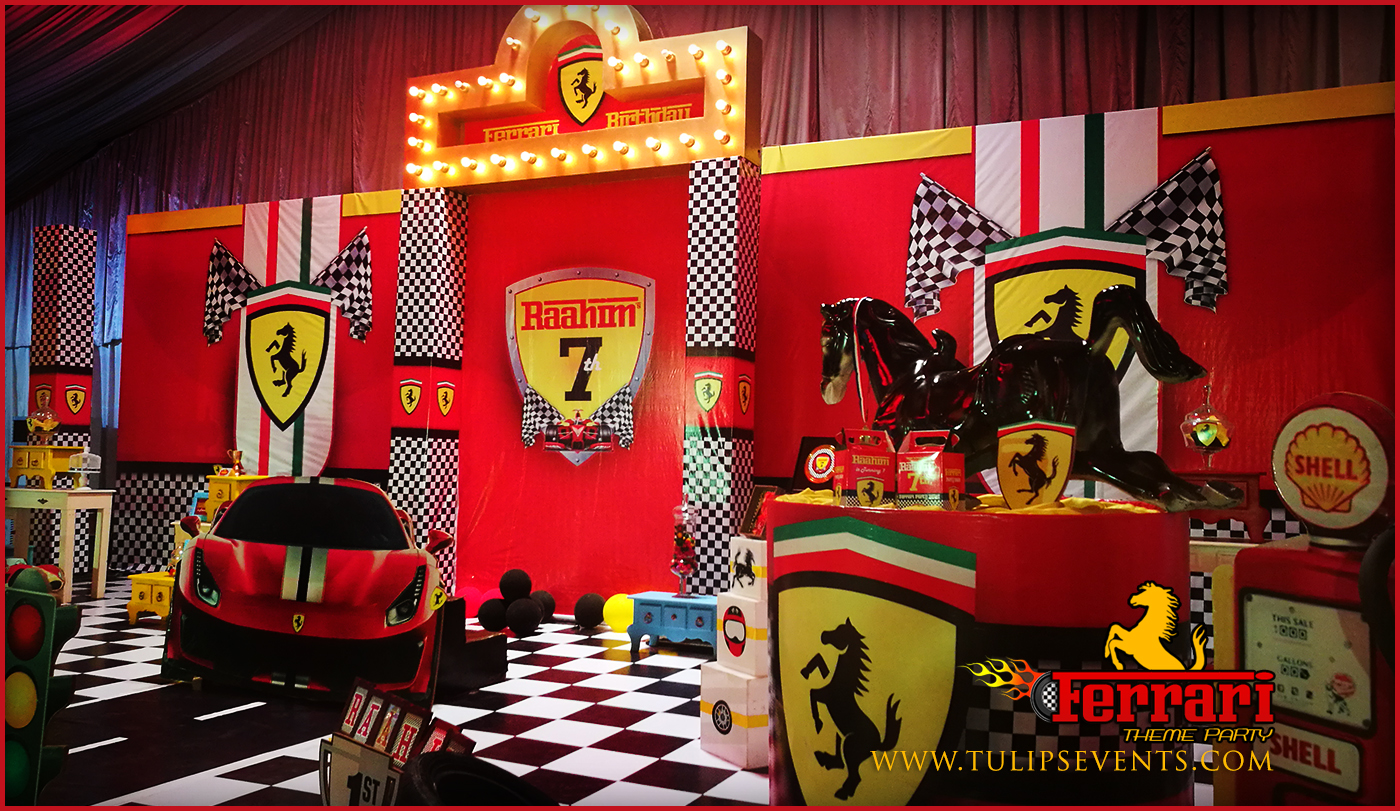 Ferrari Themed 1st Birthday Party Planner In Lahore Pakistan