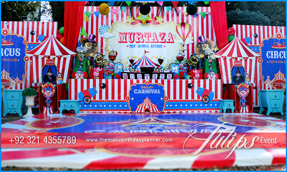 Circus Theme Carnival Party Best Birthday Party Planner In