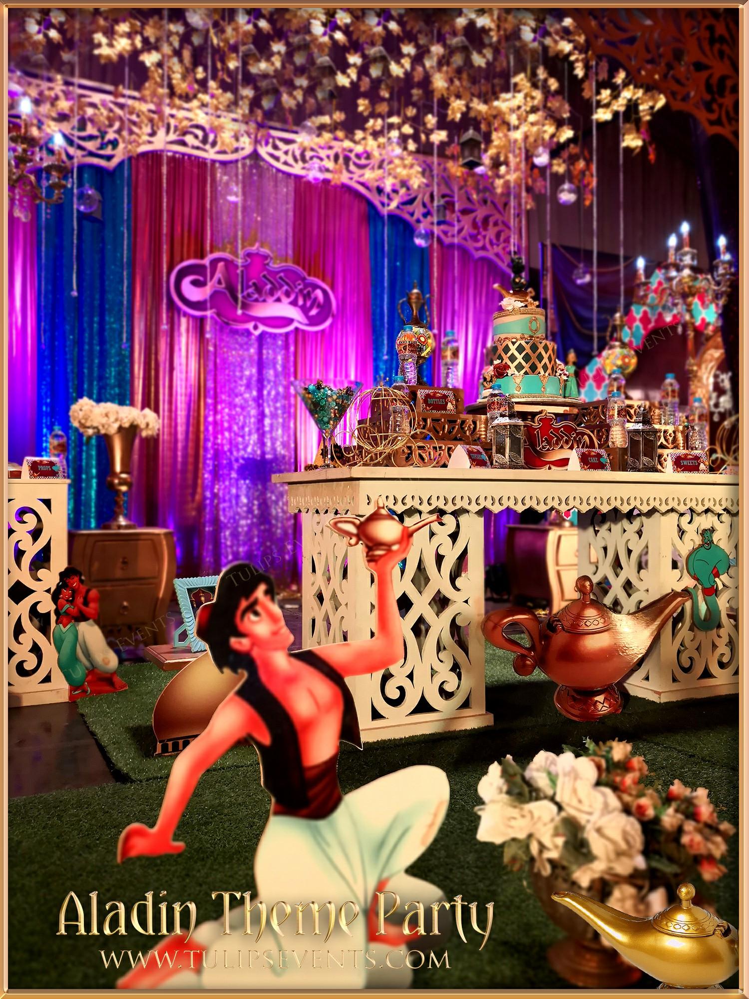 Arabian Nights Aladdin Party Best Birthday Planner In