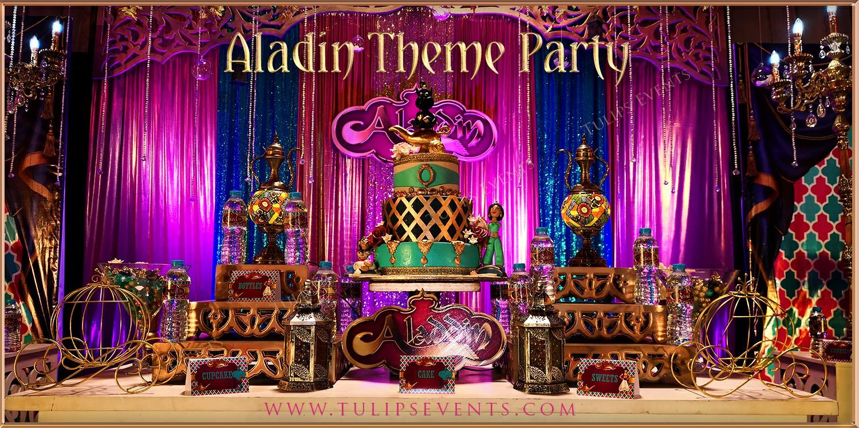 Arabian Nights Aladdin Party Best Birthday Planner In Pakistan