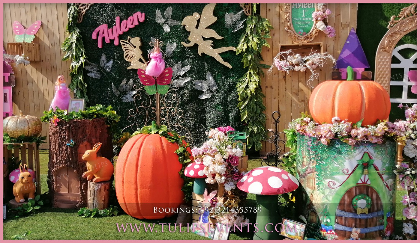 Fairy Garden Theme Party Best Birthday Party Planner In Lahore Pakistan Thematic Birthday Planner