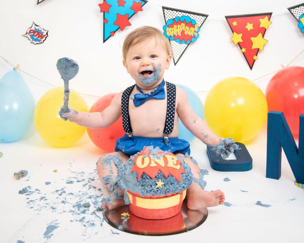 How To Plan Unique Baby Boy 1st Birthday Photoshoot Ideas